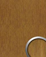 WallFace 17848 OXY TERRA самоклеящаяся настенная панель под кожу эффект стального листа ржаво-коричневая | 2,60 м