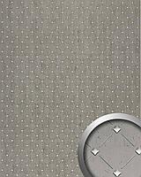 WallFace 17857 3D панель настенная самоклеящаяся с декоративной мозаикой платиновая серая серебряная   2,60 м