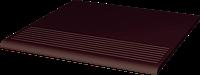 Natural Brown ступень прямая гладкая 30x30