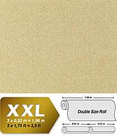 Флизeлиновые обои EDEM 998-33 с эффектом гранитной крошки / мозаичной штукатурки   песочно-желтые с белым   10,65 кв м