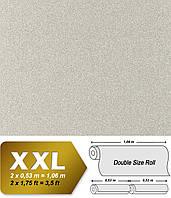 Флизeлиновые обои EDEM 998-34 с эффектом гранитной крошки / мозаичной штукатурки   светло-серые с белым   10,65 кв м