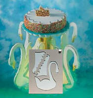 "Набор подставок для торта ""Лебеди"" Martellato (3 шт)"