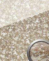 WallFace 17950 LACE панель настенная самоклеящаяся дизайн французское кружево белая коричневая   2,60 м