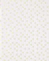 EDEM 1022-11 рельефные обои с квадратной мозаикой обои для кухни и ванной | светло-бежевые перламутровые