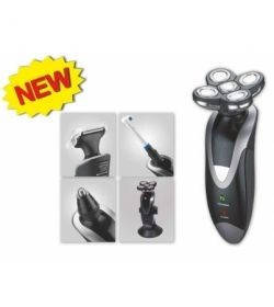 Электрическая бритва Vitalex VL4402, 4 в 1 бритва, зубная щетка, машинка для стрижки, триммер