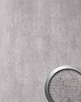 WallFace19091 CEMENT LIGHT самоклеящаяся настенная панель с эффектом цементной стены настенное покрытие под бетон светло-серое 2,60 м2