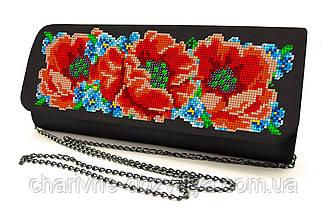 Сумочка - клатч для вышивки бисером или крестиком КЖ-010