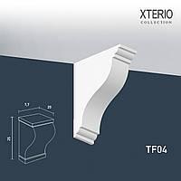 Кронштейн Orac Decor TF04 XTERIO декоративный элемент для фасадов в классическом стиле белый