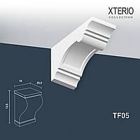 Кронштейн Orac Decor TF05 XTERIO декоративный элемент для фасадов в классическом стиле белый