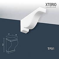 Кронштейн Orac Decor TF01 XTERIO декоративный элемент для фасадов в классическом стиле белый