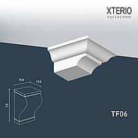 Кронштейн Orac Decor TF06 XTERIO декоративный элемент для фасадов в классическом стиле белый
