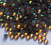 Стразы DMC, Colorado Topaz AB SS16 (колорадо топаз) термоклеевые. Цена указана за 144 шт, фото 1