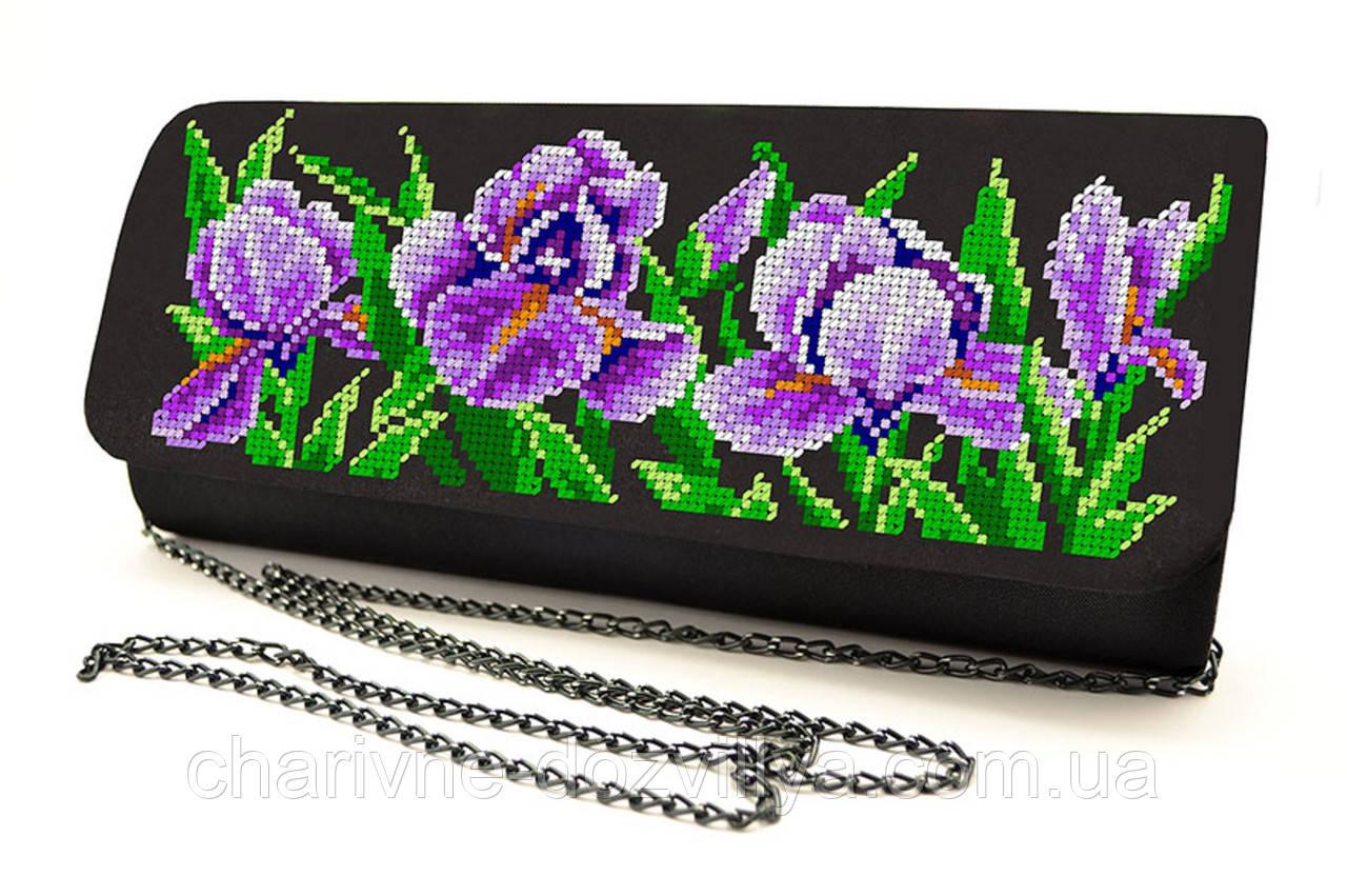 Сумочка - клатч для вышивки бисером или крестиком КЖ-007