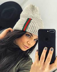 Стильная женская шапка Gucci