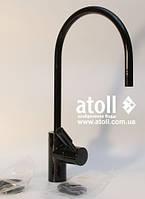 Кран Atoll A-888-BB  цвет Black-Черный