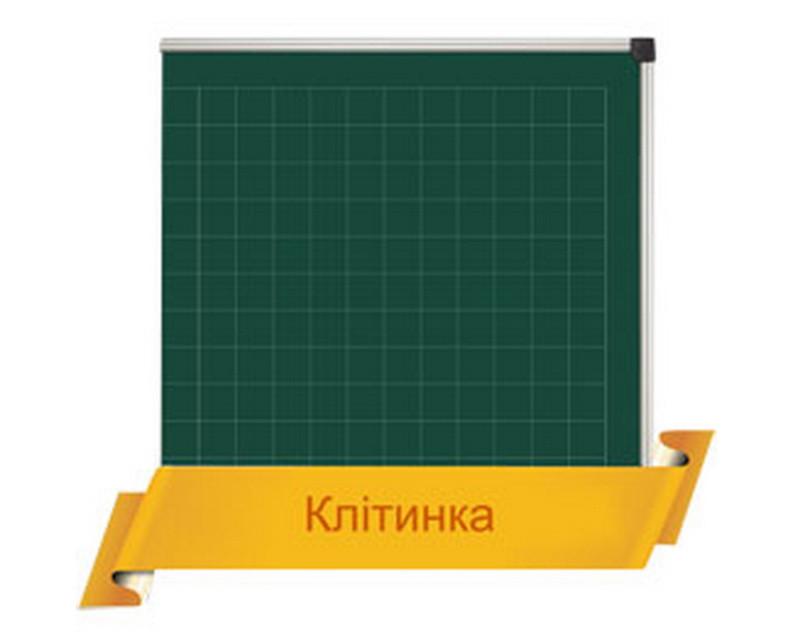 Разлиновка школьной доски в клетку 6х6 см.