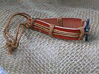 Стильный кожаный браслет знаки зодиака для девушки, ручная работа
