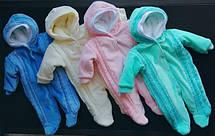 Тёплые комбинезоны для новорожденных