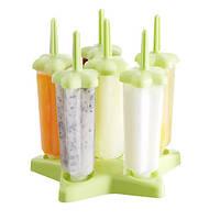 Формы для мороженого Groovy Pop Molds 6 шт подставка звезда