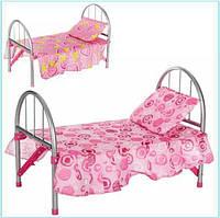 Кроватка для куклы до 45 см, Melogo 9342/ WS 2772