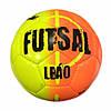 М'яч для футзалу Select Futsal Leao 109343-O розмір 4 (ПУ, бутил, помаранчевий-жовтий-чорний)