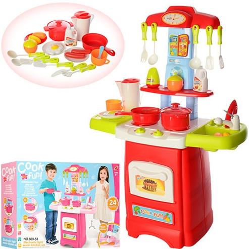 """Детская кухня 889-52-53 """"Готовим весело"""" 2 вида"""