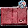 Зажим для денег с отделением для карточек Air (винный)