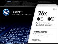 Картридж HP LJ  26X Black Dual Pack (CF226XF)
