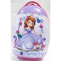 Детский пластиковый чемодан на колесах София 47*31*25,5 см, фото 1