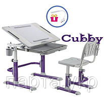 Cubby Karo растущая парта и стул для дома, мольберт + лампа