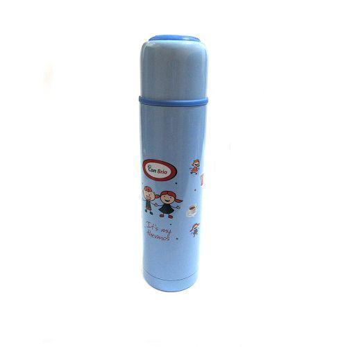 Термос детский для школы Con Brio 0,5л CB-345 Blue