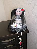 Авторская текстильная кукла ручной работы Мечтательница