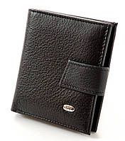 Кожаный кошелек ST маленький, вместительный.