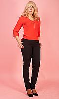 Классические женские брюки в чёрном цвете