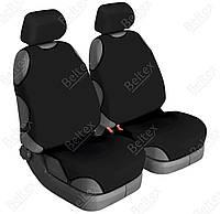 Чехлы на передние сиденья Beltex Delux, цвет: черный