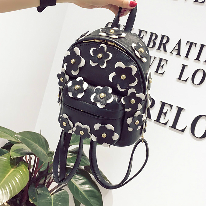 Мини рюкзак с цветами