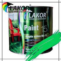Краска масляная МА-15 салатовая банка 2,5 ГОСТ 10503-71