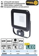 Прожектор SMD LED 230 В 50 Вт 4000 lm датчик VOREL-82848
