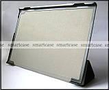 Гарний smart чохол книжка Lenovo Tab 4 10 Plus TB-X704F X704L еко PU колір Flowers, фото 4