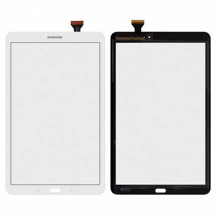Тачскрин (сенсор) для планшета Samsung T560 Galaxy Tab E 9.6 белый Оригинал, фото 2