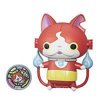 Hasbro YO-KAI WATCH: Меняющаяся фигурка с Медалью  Jibanyan-Baddinyan ( В5946/B5947)