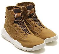 """Высокие кроссовки рыжие Nike SFB 6"""" Canvas Boot Golden Beige"""