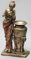 Декоративная ваза с бронзовым напылением 39 см