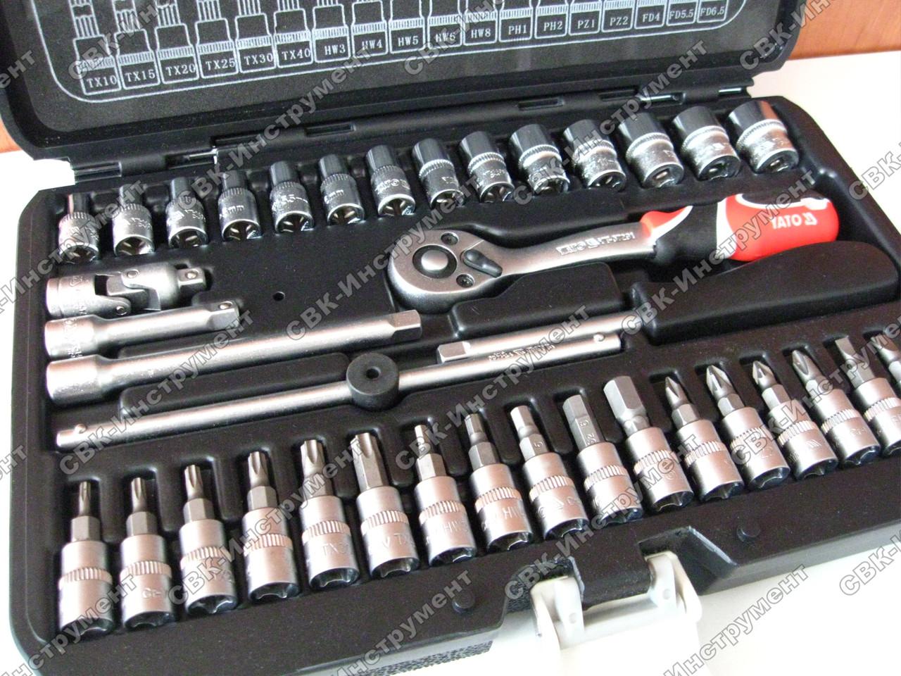 Набор инструментов Yato YT-14471 38 единиц