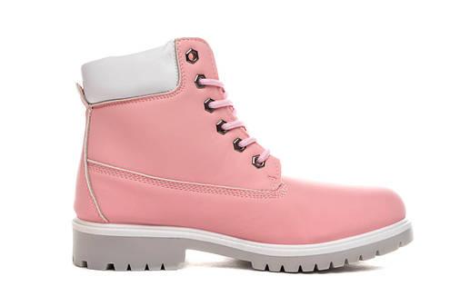 Ботинки женские Baolikang timb pink 38, фото 2