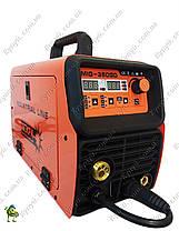 Сварочный инвертор полуавтомат Искра MIG-360GD Industrial line, фото 3
