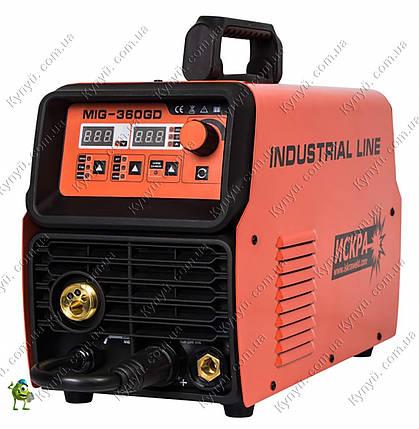 Сварочный инвертор полуавтомат Искра MIG-360GD Industrial line, фото 2