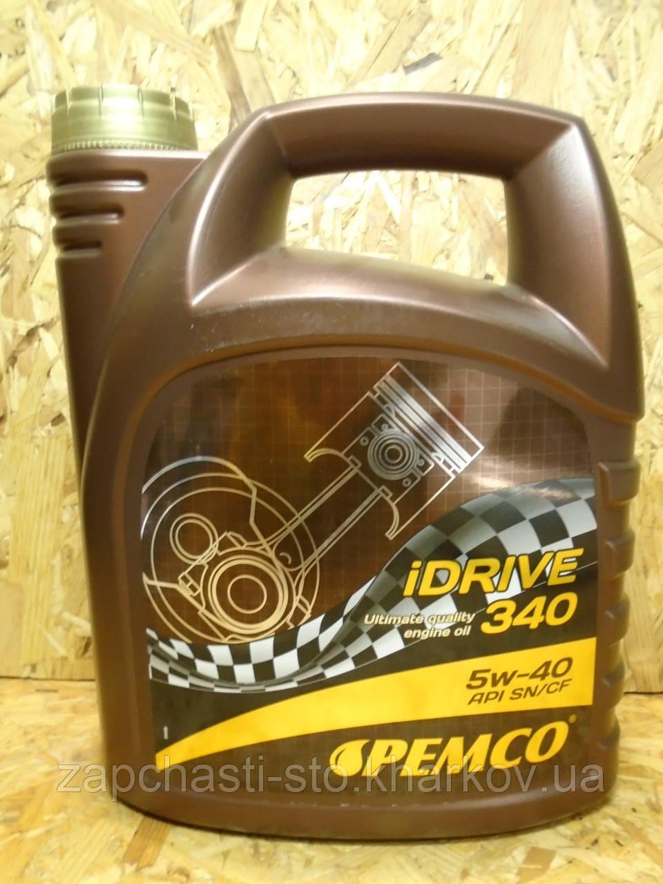 Масло 5W40 синтетика Pemco iDrive 340 4л