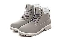 Ботинки женские Baolikang timb grey АКЦИЯ -30%