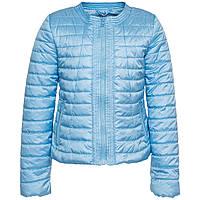 Куртка голубая для девочки осень-весна Monnalisa